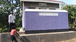 RAMBIA ORPHANAGE SCHOOL LATRINE NOW READY FOR USE BY PUPILS funded by Missiehulp Projecten in 2016