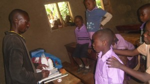 RAMBIA PUPILS BEING VACCINATED