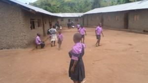 RAMBIA SCHOOL CLASS ROOMS WITH SOME CHILDREN